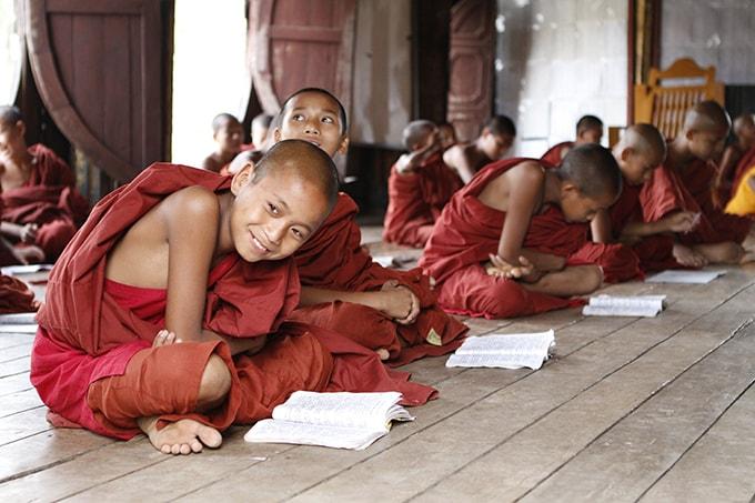 Phật tử Myanmar