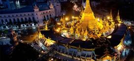 Tham quan chùa Sule ở Myanmar